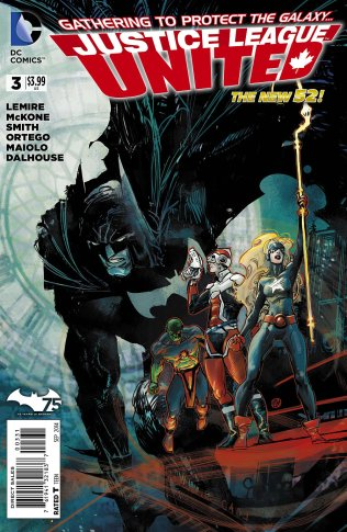 JUSTICE LEAGUE UNITED #3 VARIANT B